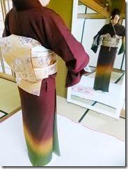 着物を美しく着るために (1)