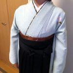 学校の先生も袴の出張着付けを(*^^*)♪