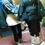 高須教室で他装着付のテストを(*^^*)♪