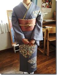 結婚式に訪問着の出張着付 (2)