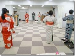 広島リビングカルチャーの着物着付け教室 (1)