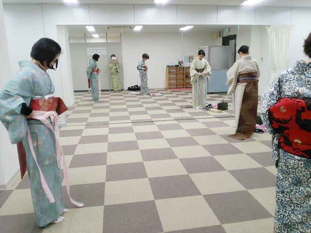 広島の楽しい着付け教室(*^^*)♪