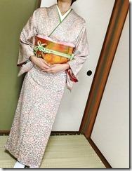 着物で結婚式へ (1)