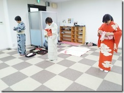 広島リビングカルチャーの着物着付け教室 (2)