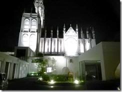夜も素敵な古田台の結婚式場に出張着付 (1)