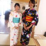 浴衣で広島の花火大会に(^O^)♪