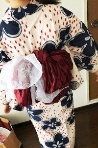 夏は浴衣で広島の花火大会へ