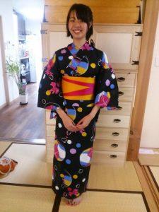 浴衣で広島の花火大会に