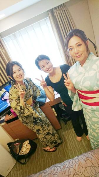 カープ浴衣女子が東京から広島へ(^^)♪
