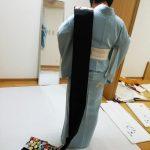 礼装着の着付け教室(^^)♪