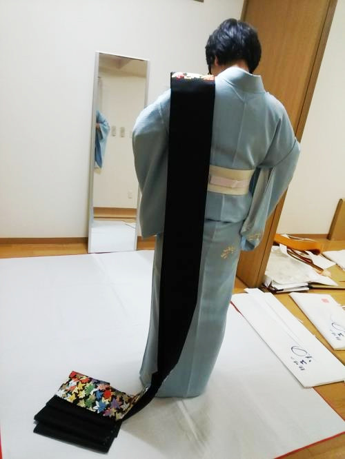 礼装着の着付け教室
