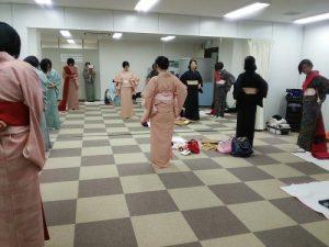 リビング広島の着物着付教室