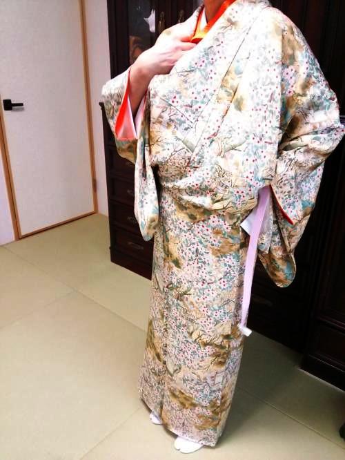礼装着の着付け教室に(^o^)♪