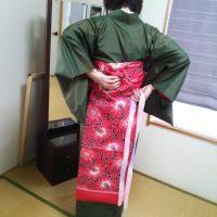 広島市南区宇品のご自宅へ出張着付け教室
