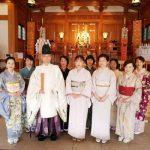 訪問着や小紋で広島護国神社へ初詣に(^o^)♪