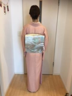 出張着付に東広島市西条へ着物で入園式