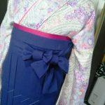 袴の着付け練習(^^)♪