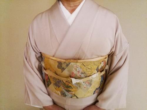 帯と着物の素敵なコーディネート