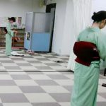 広島リビングカルチャーで着付け教室を開催(^o^)♪