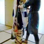 広島の着付け教室で他装着付けのテストを(^o^)♪