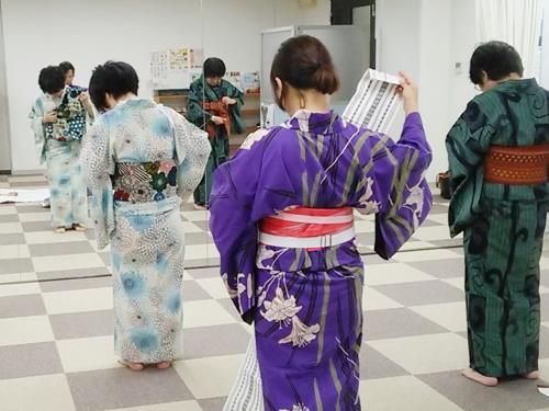 広島リビングカルチャーで着付け教室を(^^)♪