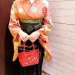 可愛い袴姿で卒業式に(^^)♪