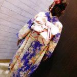 フォレオ広島の美容室へ振袖の着付に(^^)♪