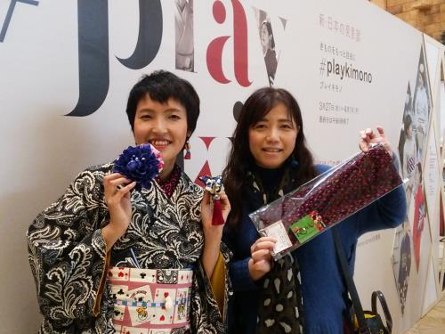 大阪の#playkimonoイベントに(^o^)♪