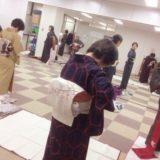 リビングカルチャー倶楽部の着付け教室(^o^)♪