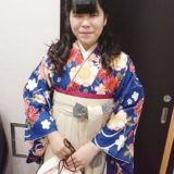 広島市安佐南区の美容室で袴着付け(^^)♪