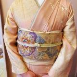 春コーデの着物で入園式へ(^^)♪
