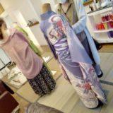 広島市西区庚午のブランチヘアーへ振袖の着付け教室に(^^)♪