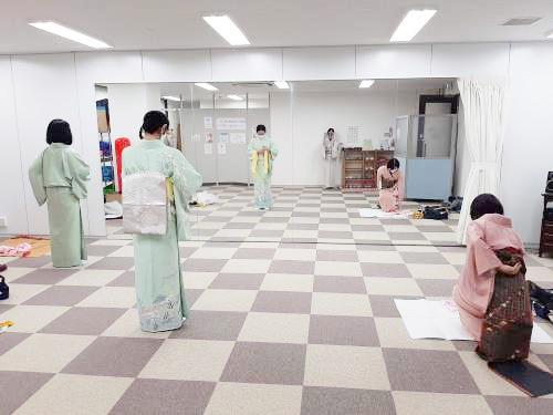 広島リビングカルチャー倶楽部の着付け教室