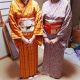 広島の着付け教室で名古屋帯結びを(^o^)♪
