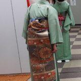 広島リビングカルチャー倶楽部で年内最後の着付け教室(^^)♪