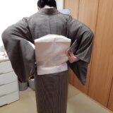 きもの着付け教室の着付けテストに向けて(^o^)♪