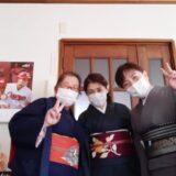 着付師から紬小紋に名古屋帯の着方をしっかりと学ぼう(^o^)♪