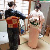 広島市出汐のご自宅で出張きもの着付け教室を(^^)♪