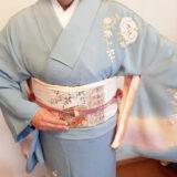 上品な着物コーデで卒業式に(*^^*)♪